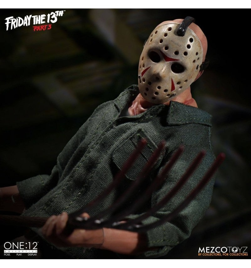 Friday the 13th part.3 Meurtres en 3 dimensions Mezco One:12 Jason Voorhees